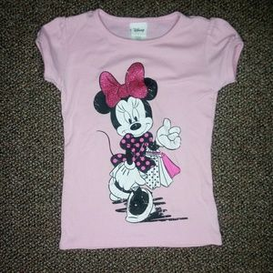 Pink Minnie Mouse Shirt